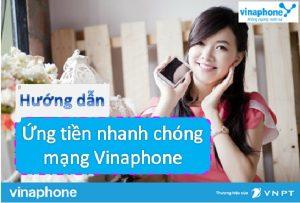 Cách ứng tiền mạng Vinaphone